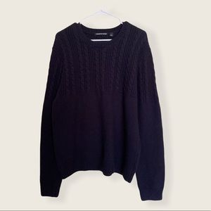 Country Road cableknit wool cashmere blend sweater